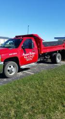 Our delivery truck at Aspen Ridge Home & Garden in Mineral Point, WI