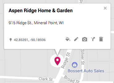 Aspen Ridge Home & Garden, 1050 Branger Drive, Mineral Point, Wisconsin